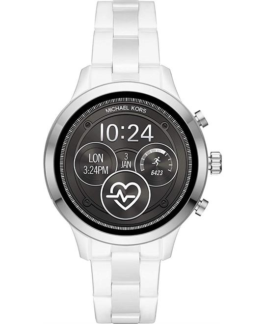 Michael Kors Runway Access Ceramic Smartwatch 41mm