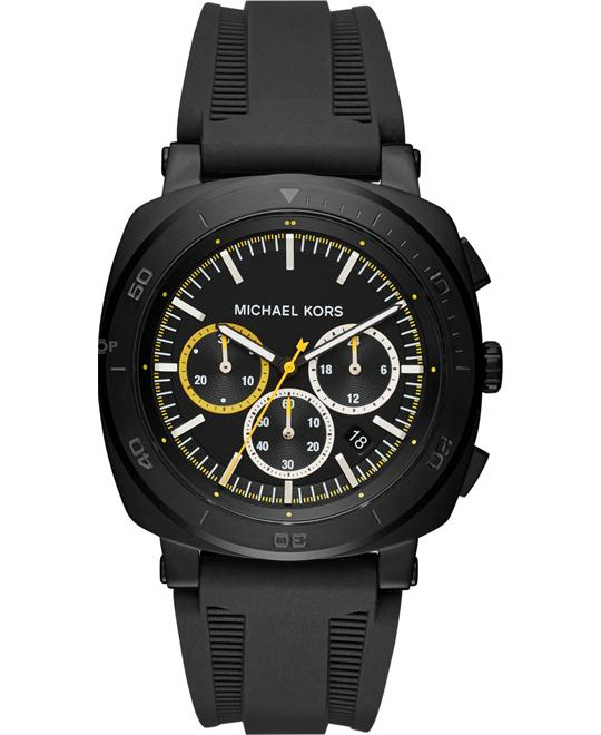 Michael Kors Bax Silicone Watch 43mm