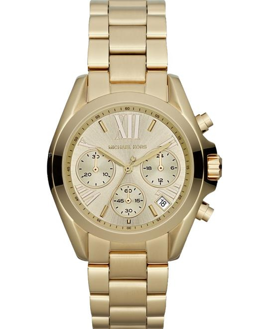 Michael Kors Bradshaw Gold Watch 36mm