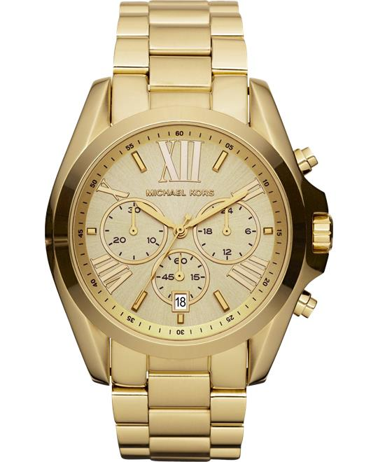 Michael Kors Bradshaw Gold Watch 43mm