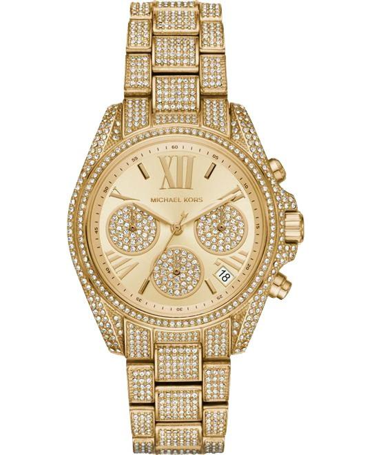 đồng hồ Michael Kors Bradshaw Mini Crystal Pave Watch 36mm