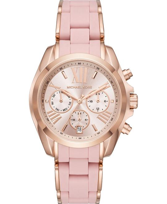 Michael Kors Bradshaw Silicone Watch 40MM