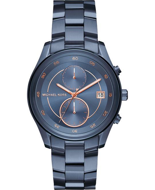 Michael Kors Briar Navy-Tone Watch 40mm