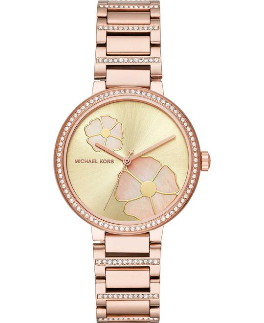 Michael Kors Courtney Rose Gold-Tone Watch 36mm