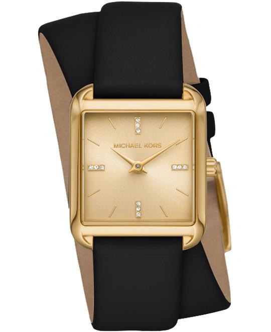 đồng hồ nữ Michael Kors Drew Double Wrap Watch 33mm x 39mm