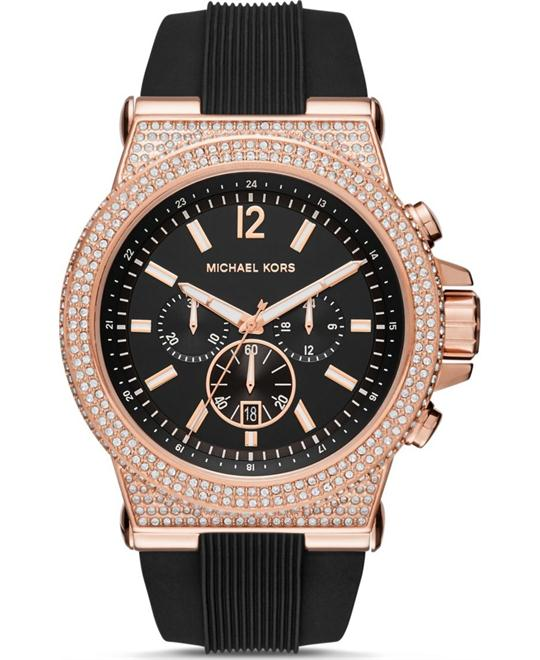 Michael Kors Dylan Rose Gold Watch 48mm