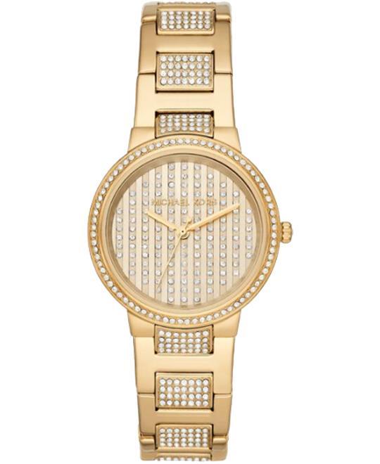 đồng hồ Michael Kors Gabbi Pavé Glitz Watch 33mm