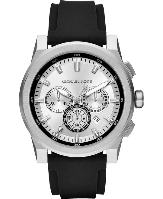Michael Kors Grayson Silicone Watch 47mm