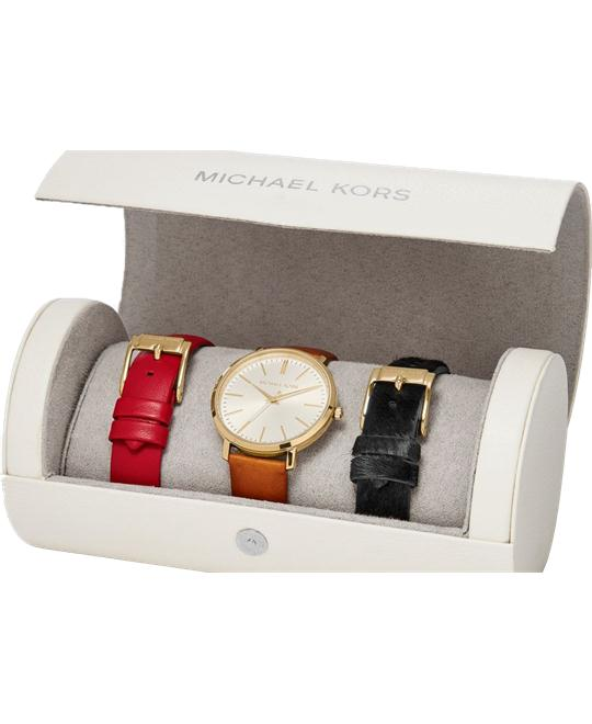 Michael Kors Jaryn Gold-Tone Watch Set 38mm