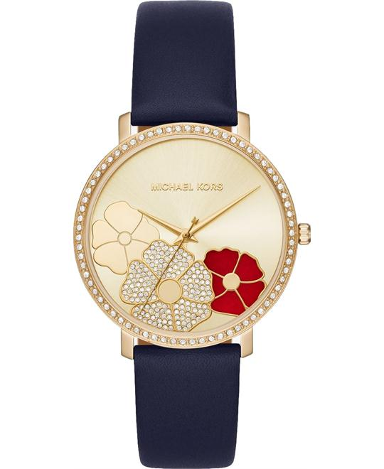 dong ho Michael Kors Jaryn Pavé Gold-Tone Watch 38mm