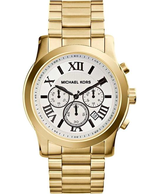 Michael Kors Jetset Gold-Tone Watch 43mm