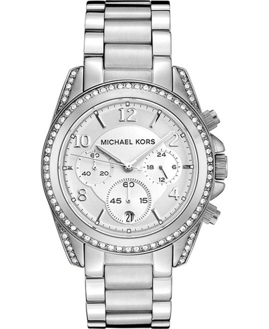 dong ho Michael Kors Blair Chronograph Unisex Watch 39mm