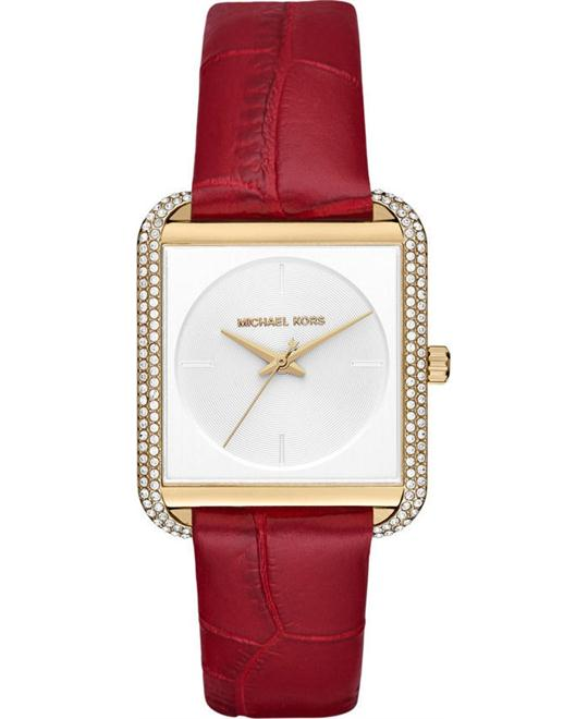 đồng hồ MICHAEL KORS LAKE WOMEN'S LAKE RED WATCH 32MM