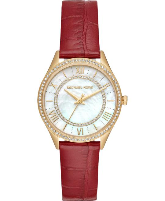 Michael Kors Lauryn Mini Red Watch 33mm