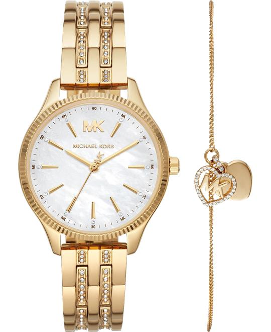 Michael Kors Lexington Watch Set 36mm