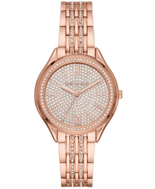 Michael Kors Mindy Rose Gold-Tone Watch 36mm