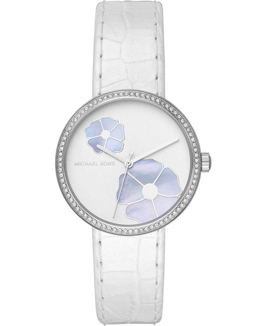 Michael Kors Courtney Pavé Embossed Watch 36mm