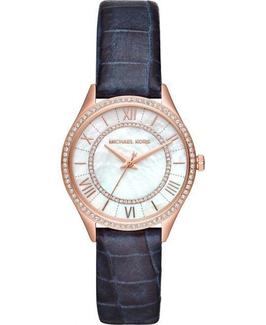 Michael Kors Lauryn Mini Blue Watch 33mm