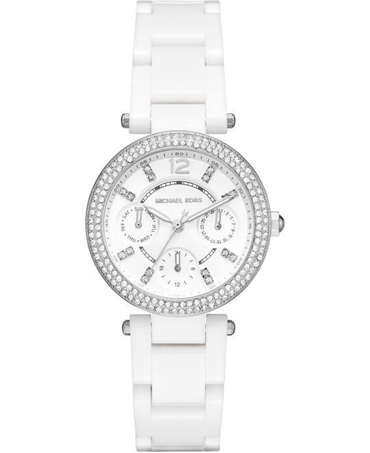 Michael Kors Parker Mini Ceramic Watch 33mm