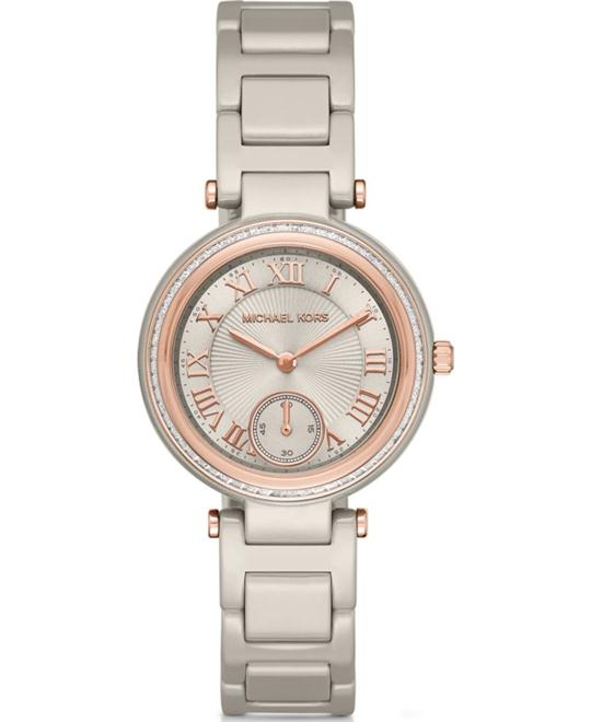 Michael Kors Skylar Mini Ceramic Watch 33mm