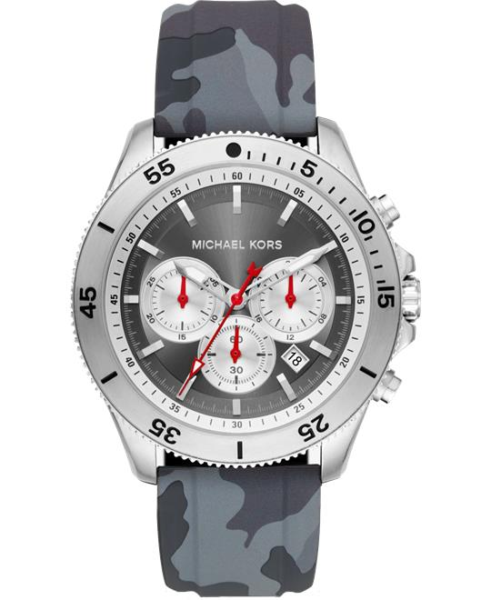 Michael Kors Oversized Theroux Camo Silicone Watch 45mm