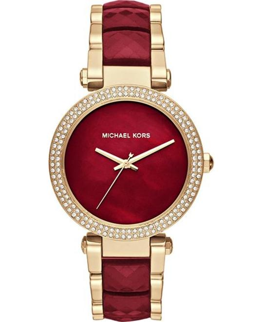 Michael Kors Parker Gold-Tone Watch 39mm