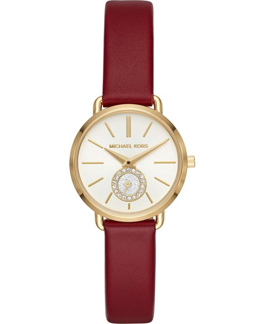 Michael Kors Petite Portia Gold Watch 28mm