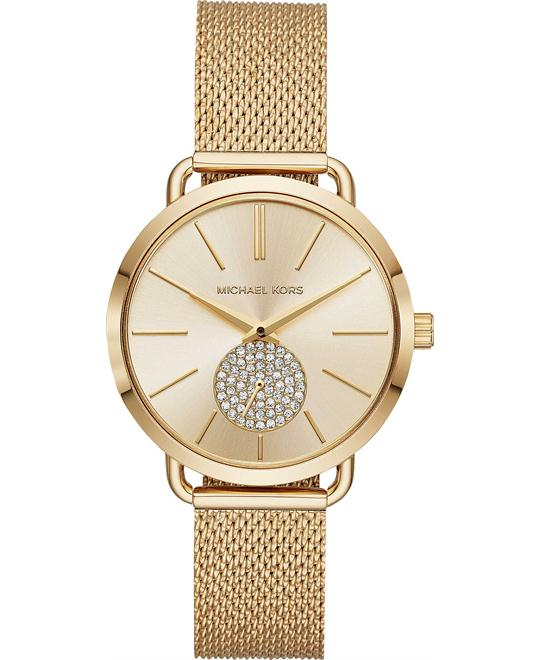 Michael Kors Portia Gold-Tone Watch 37mm