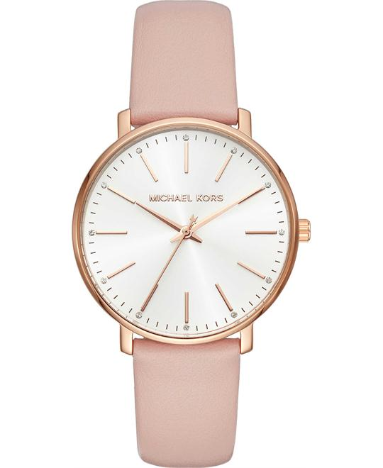 Michael Kors Pyper Rose Gold-Tone Watch 38mm