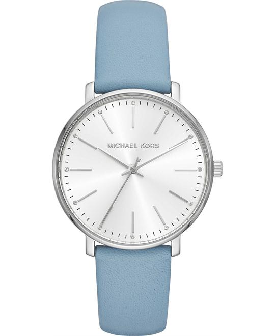 Michael Kors Pyper Silver-Tone Watch 38mm