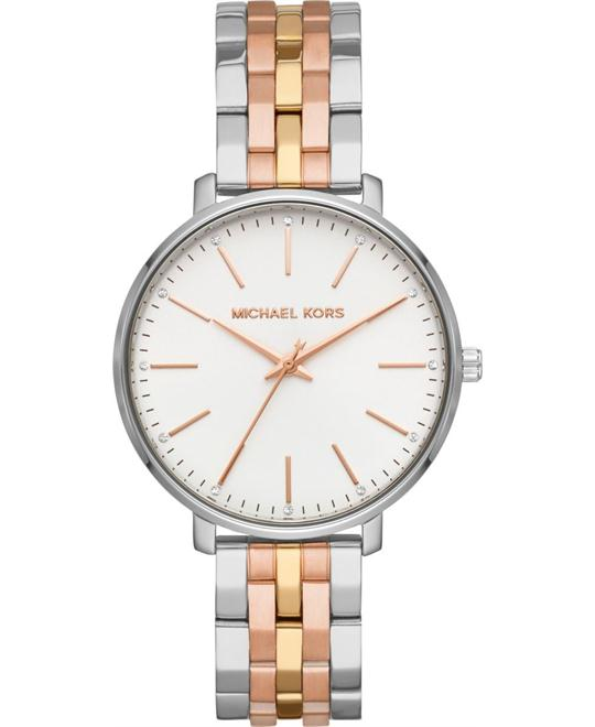 Michael Kors Pyper Tri-Tone Watch 38mm