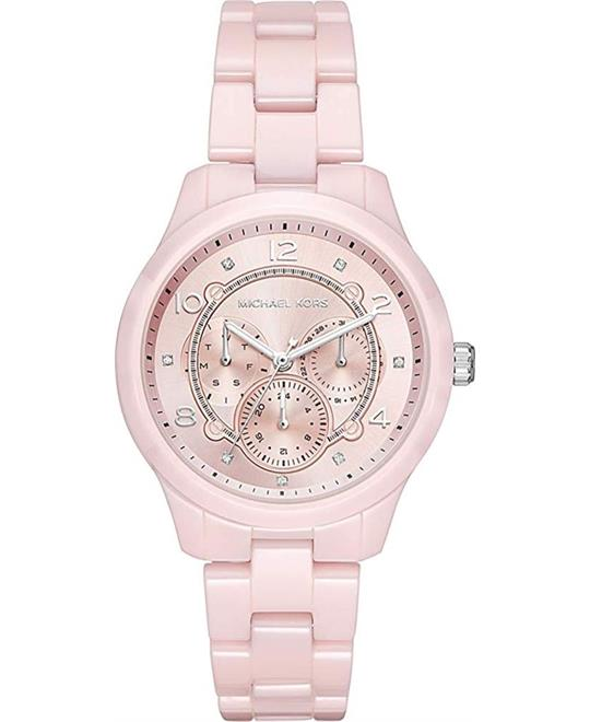 Michael Kors Runway Ceramic Watch 38 x 45 mm