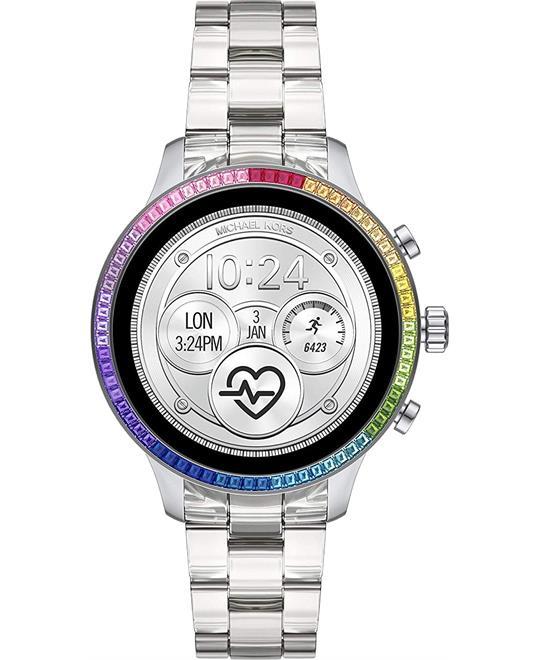 MSP: 88418 Michael Kors Runway Heart Rate Smartwatch 41mm