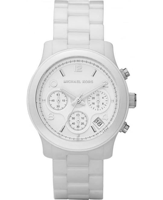 Michael Kors Runway Ceramic Watch 38mm