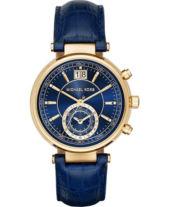 Michael Kors Sawyer Women's  Blue Watch 39mm