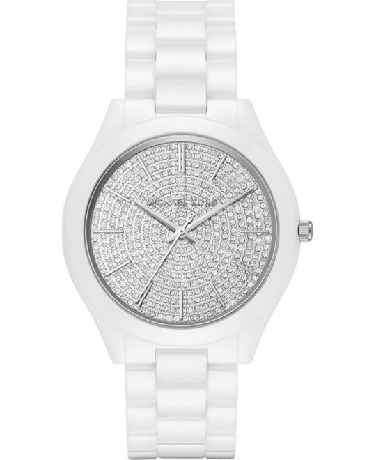 Michael Kors Runway Slim Ceramic Watch 42mm