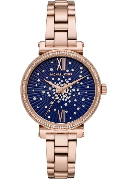 Michael Kors Sofie Rose Gold-Tone Watch 36mm