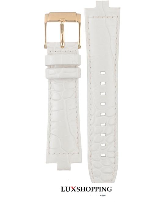 Michael Kors Straps MK5224 White leather strap 8mm