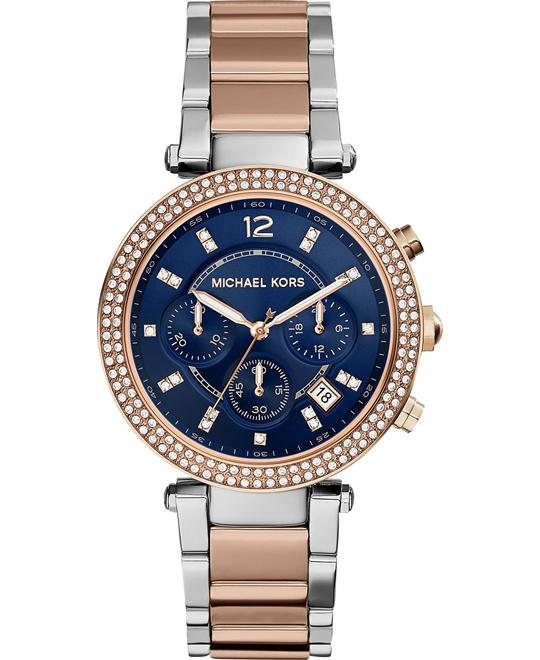 Michael Kors Parker Two-Tone Women's Watch 39mm