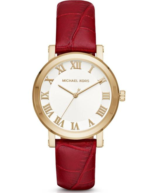 Michael Kors Women's Norie Red Watch 38mm