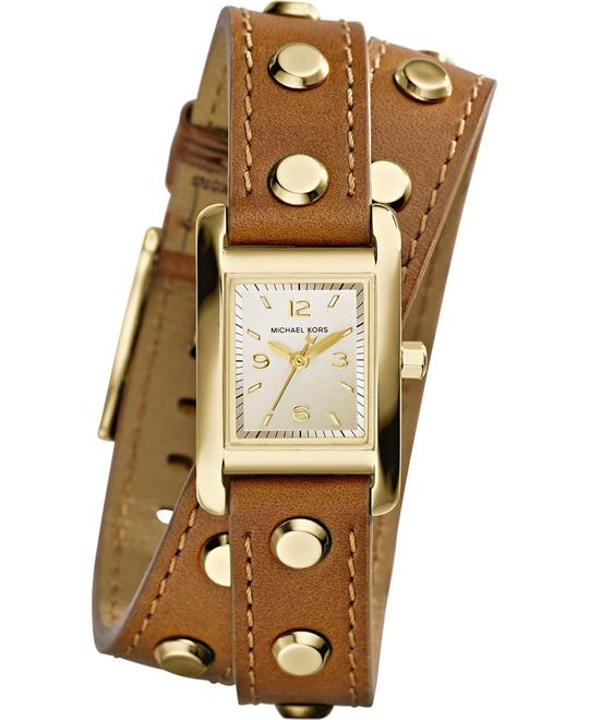 Michael KorsTaylor Champagne Watch 22x20mm