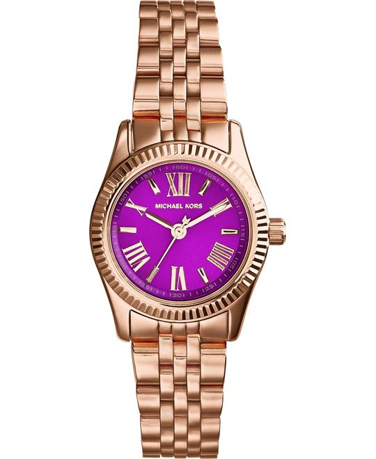 Michael Kors Lexington Purple Watch 26mm