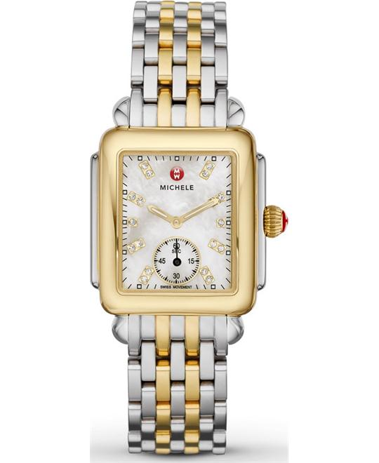 Michele Deco Diamond Watch 29*31mm