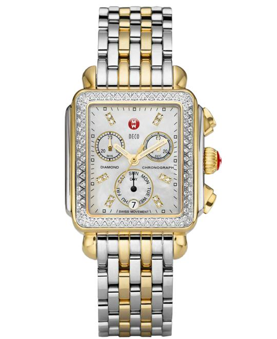 Michele Deco Diamond Watch 33*35mm