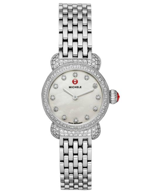 Michele Csx-26 Pav Diamond Ladies watch, 26mm