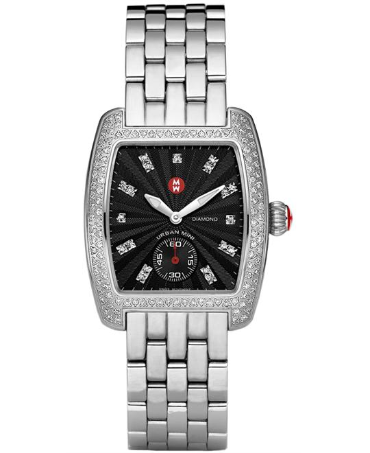 Michele Urban Mini Ladies watch, 29mm X 30mm