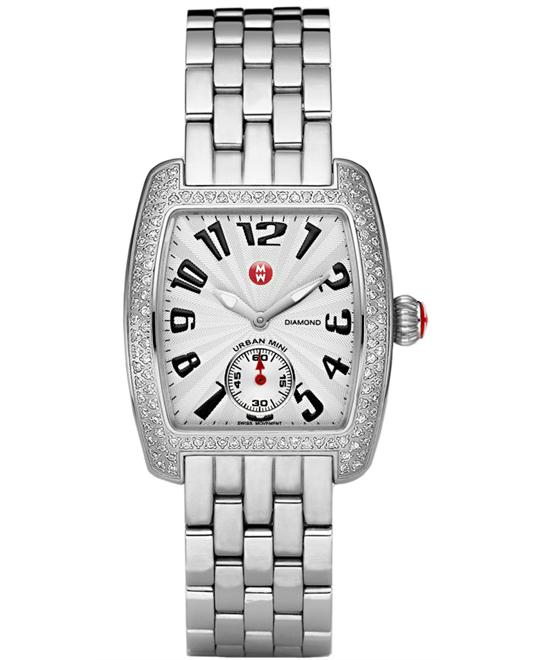 đồng hồ Michele Urban Diamond Ladies watch 29mm X 30mm