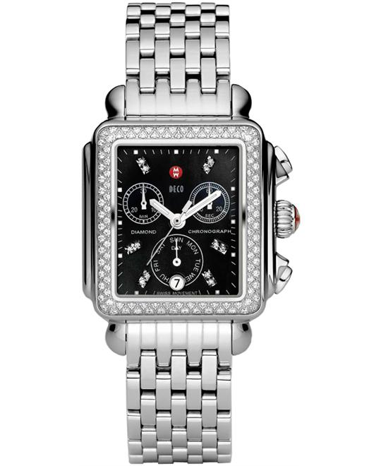 Michele Deco Diamond Signature Watch 33* *35mm