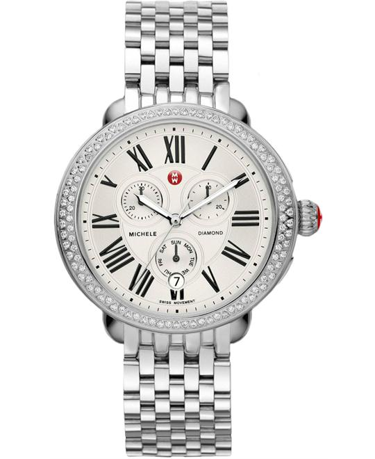 Michele Serein Diamond Watch 38*40mm