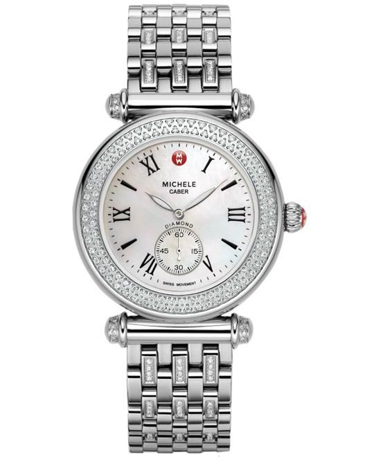 Michele Caber Diamond Ladies watch, 37mm
